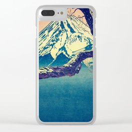 Pausing at Dojiro Clear iPhone Case