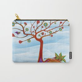 Hedgehogs fruit tree Carry-All Pouch