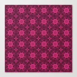 Pink Yarrow Floral Canvas Print