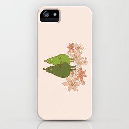 Avocado Love iPhone Case