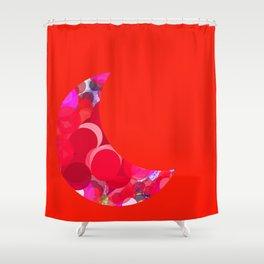 SEXYplexi dots Moon Shower Curtain