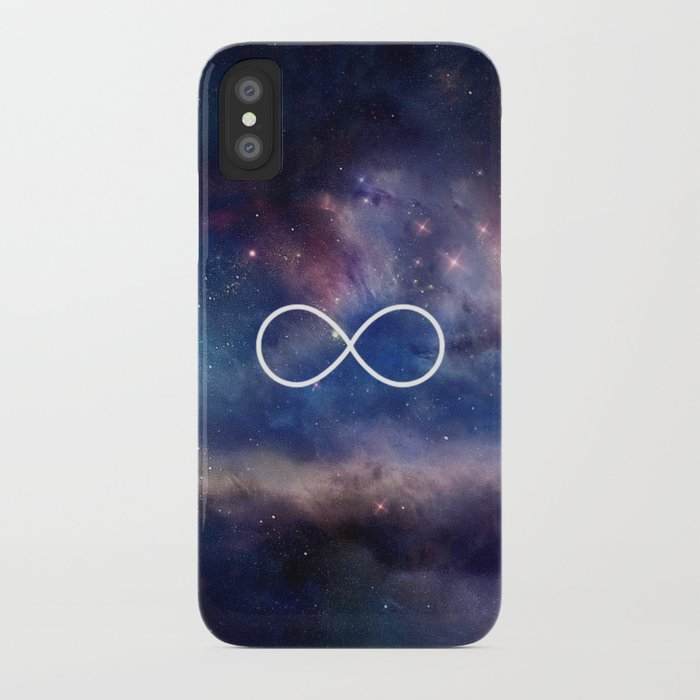 Infinity Symbol Stars Galaxy Space iPhone Case