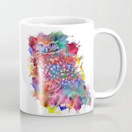 Rainbow owl Coffee Mug