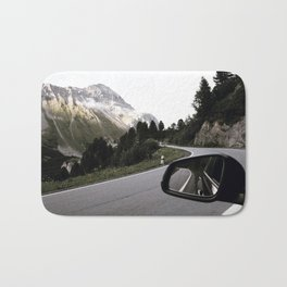 Road Trip II / Switzerland Bath Mat
