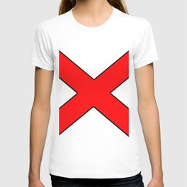 Saint andrew's cross 1- T-shirt