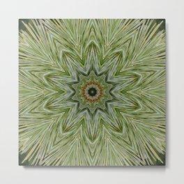 White pine kaleidoscope/mandala II Metal Print