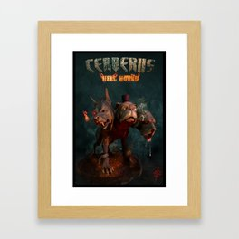 Cerberus: Hell Hound Framed Art Print