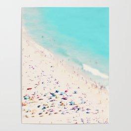 beach love III square Poster