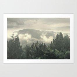 Carpathian Mountains - Transylvanian Alps Art Print