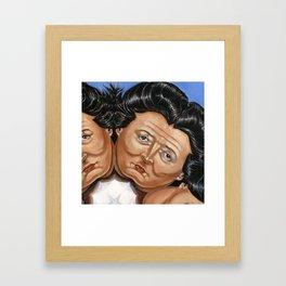 Princess Street Queen of Hearts 2 Framed Art Print