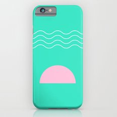 Aqua Sunrise iPhone 6s Slim Case