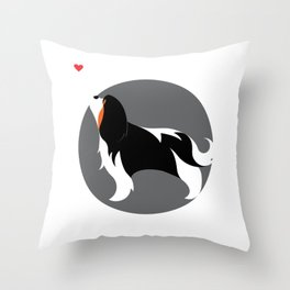 Cavalier King Charles Love Throw Pillow