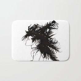 Hair 6 Bath Mat