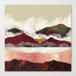 Melon Mountains Canvas Print
