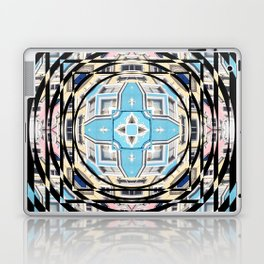 Perspective Aperture, Intersecting Pattern Laptop & iPad Skin