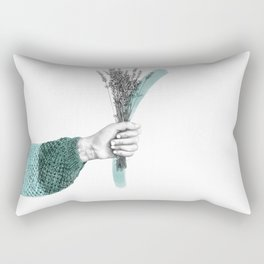 April Bouquet Rectangular Pillow