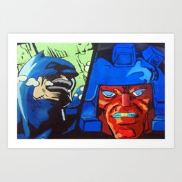Anger in Animation Art Print