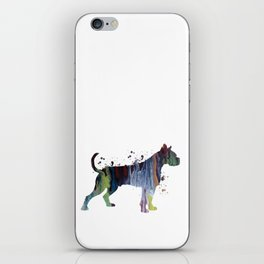 Boxer Dog iPhone Skin
