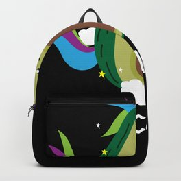 Unicado Avocado Unicorn Fantasy Horse Backpack