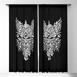 Odin The Allfather - Asgard God And Chief Of Aesir Blackout Curtain