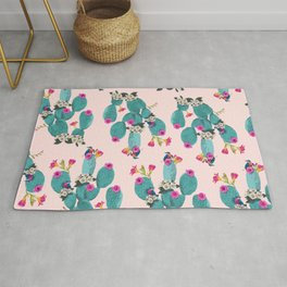 Cactus Hummingbirds Rug