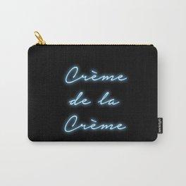 """""""Creme de la Creme"""" Neon Print Carry-All Pouch"""