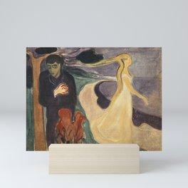Edvard Munch - Separation Mini Art Print