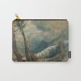 """J.M.W. Turner """"Mer de Glace, in the Valley of Chamouni"""" Carry-All Pouch"""