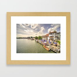 The Angel at Henley  Framed Art Print