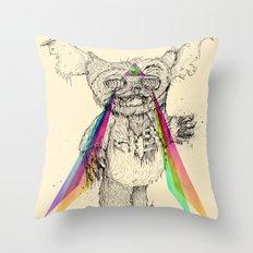 Gizmombie Throw Pillow