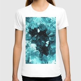 Crystal Geode Abstract T-shirt