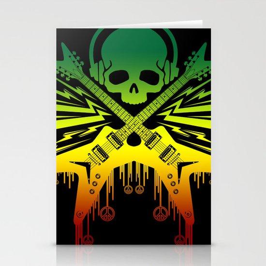 punk rock  Stationery Cards