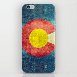 Coloradan State Flag iPhone Skin