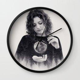 Clair De Lune Wall Clock