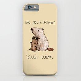 Dam iPhone Case