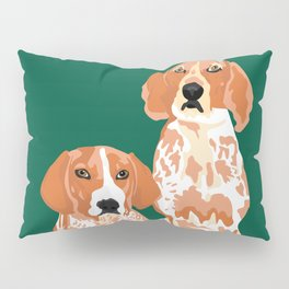 Gracie and George Pillow Sham