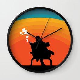 The illusive man Wall Clock