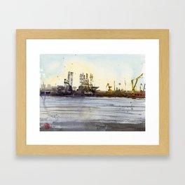 Plein-air Sembawang Framed Art Print
