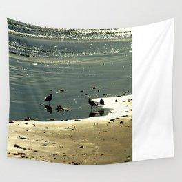 Ocean Glitter Wall Tapestry