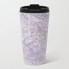 Purple Marble Travel Mug