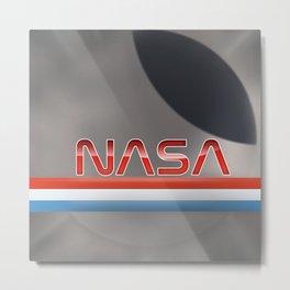 Vintage NASA Moon poster Metal Print