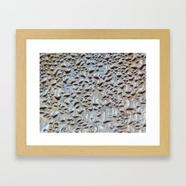 Morning condensation Framed Art Print