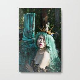 Priestess of Isis Metal Print
