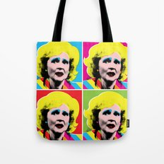 Rose Nylund x 4 by @ruralmodernist Tote Bag