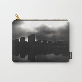 Sleeping in the dark (black v.) Carry-All Pouch