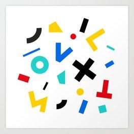 color signal Art Print