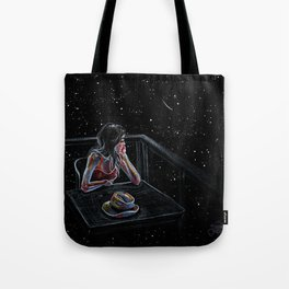 Wait for a Star Tote Bag