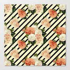Chrysanthemum Rain Canvas Print