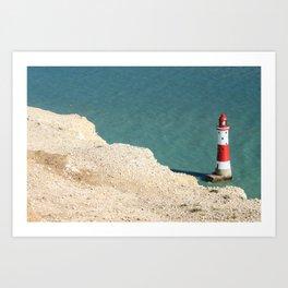 beachy head Art Print