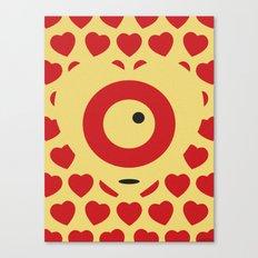 EMPTY HEARTS Canvas Print